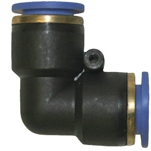 Evolution Aqua  12mm Equal Elbow Air Fitting