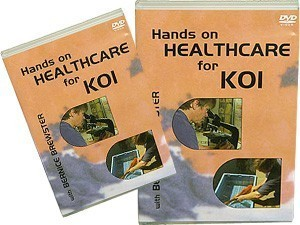 Hands On Health Care For Koi DVD
