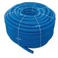floating blue vac hose