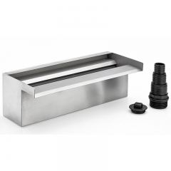 oase waterfall 30 stainless steel water blade