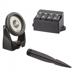 oase lunaqua power led set 1 spotlights provide powerful economical lighting for pond lighting