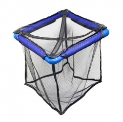 superfish floating fish cage 50 x 50 x 50 cm