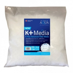 evolution aqua k+ advanced floating filter media 25l
